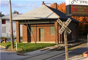 Shrewsbury Railroad Station, Stewartstown Railroad