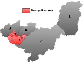 Location of Jianshan (