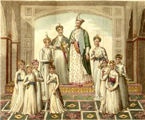 Shujah ud-Daulah and his sons shoberl.jpg