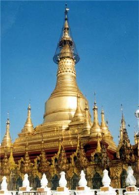 Shwesandaw Pagoda in Pyay