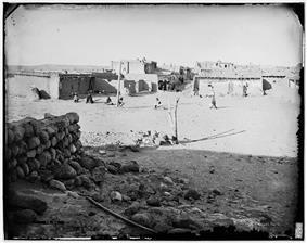 Zia Pueblo in the late 1800s.