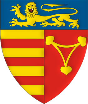 Coat of arms of Sibiu County