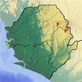 Loma Mountains is located in Sierra Leone