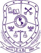 The official crest of Sigma Lambda Beta.