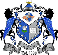 The official crest of Sigma Sigma Rho.