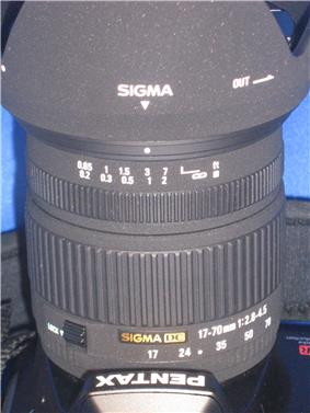 Sigma 17-70mm lens