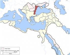 Location of Silistra Eyalet