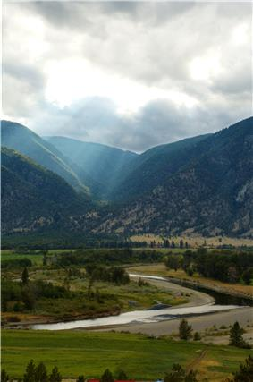 The Similkameen River Valley