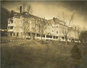 A residential hall, Simpson Hall is located on the Rockland campus in Nyack, NY.