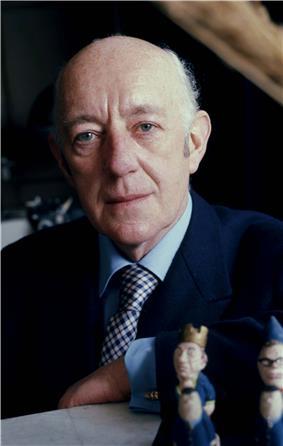 Alec Guinness in 1973