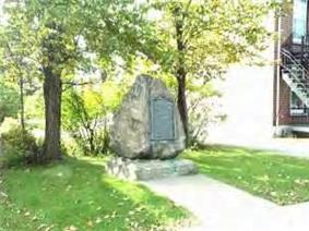 Monument at the Battle of Trois-Rivières