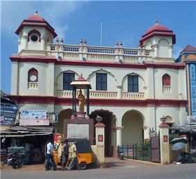 Entrance to the Velu Nachiar Palace, Sivaganga