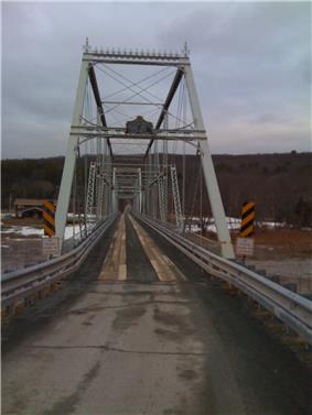 Mallanville-Skinners Falls Bridge