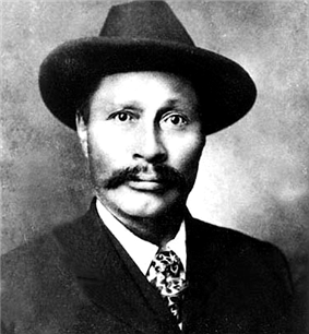 Photograph of Skookum Jim, one of the discoverers, 1898