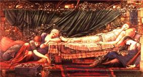 Sleeping Beauty painting by Edward Burne-Jones