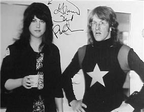 Kantner and Grace Slick with Jefferson Starship
