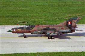 Slovakian Mikoyan-Gurevich MiG-21MF June 1997