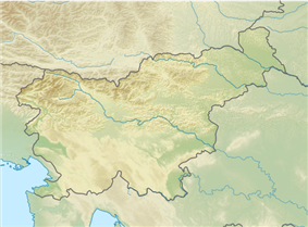Triglav is located in Slovenia