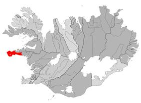 Location of the Municipality of Snæfellsbær