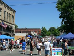 First Street during the annual Kla-Ha-Ya Days celebration, 2006