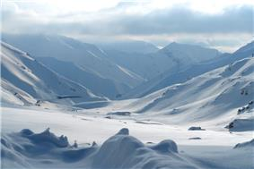 The Salang Pass during winter