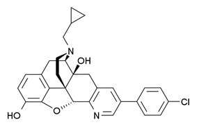 Chemical structure of SoRI-9409.