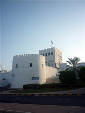 The fort at Al Hujra.