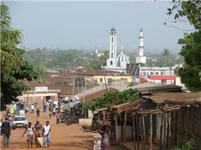A mosque in Sokodé