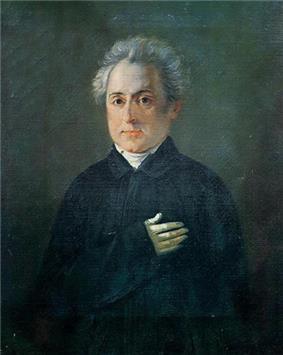 Portrait of Dionysios Solomos