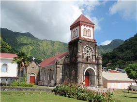 Roman Catholic Church of St. Mark.  Soufrière, Dominica.