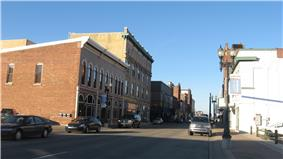 historic buildings in town