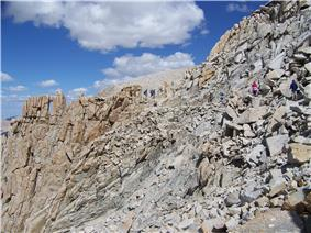 southern end of John Muir Trail