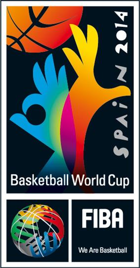 Official logo of the 2014 FIBA Basketball World Cup