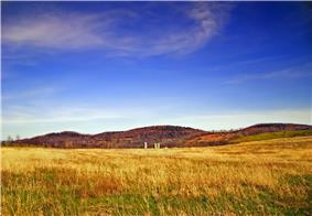 A farm in Delmar Township