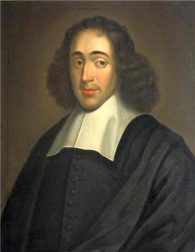 Portrait of Benedictus de Spinoza