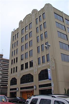 The Art Deco City Hall building