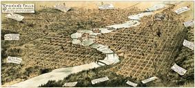 Spokane Falls in 1890