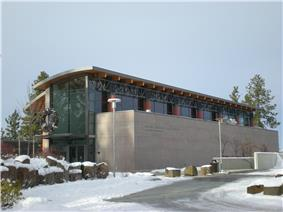 The Northwest Museum of Arts and Culture in Brownes' Addition
