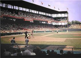 Inside Sportsman's Park ca. 1961-2.
