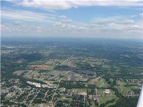 Lower Springboro from the air
