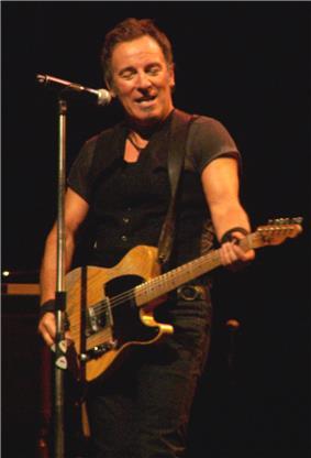 Bruce Springsteen Performs in Spain.