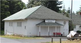Grange Hall in Springwater
