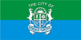 Flag of Spruce Grove