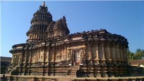 Sri Vidyashankara temple (1342 AD) at Sringeri