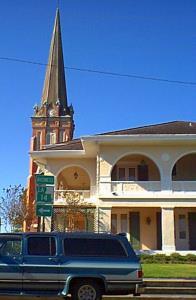 Skyline of Abbeville, Louisiana