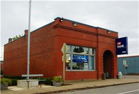 U.S. Bank branch in the city