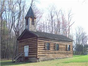 St. Severin's Old Log Church