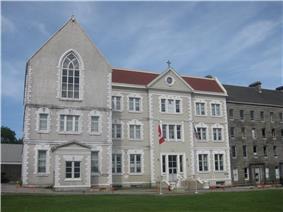 St. Bonaventure's College in the St. John's Ecclesiastical District