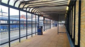 St Andrews Street Bus Station, Bury St Edmunds, 24 Oct, 2012.jpg