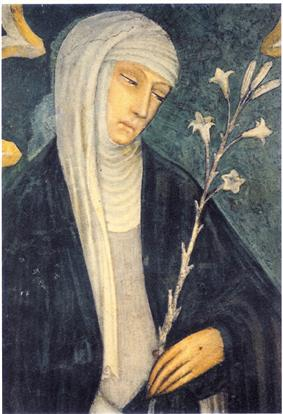 St. Catherine of Sienna.